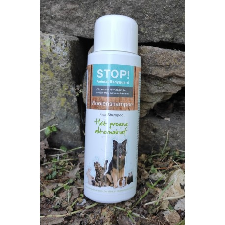 Stop ! Shampoing anti-puces